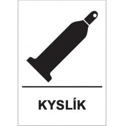 Kyslík 10L - 150/200 bar