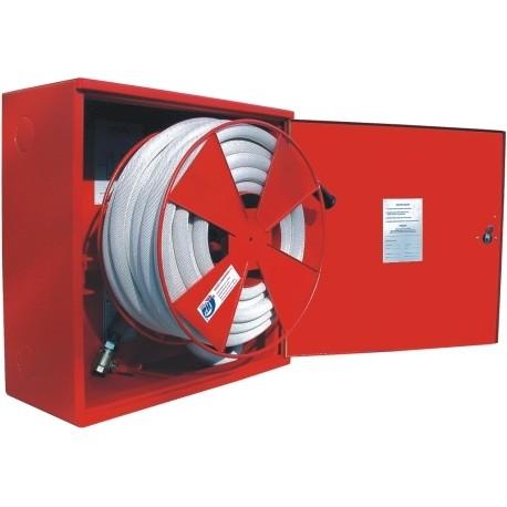 Hydrantový systém s hadicí D25 -20bm - plná dvířka - proudnice ekv.10